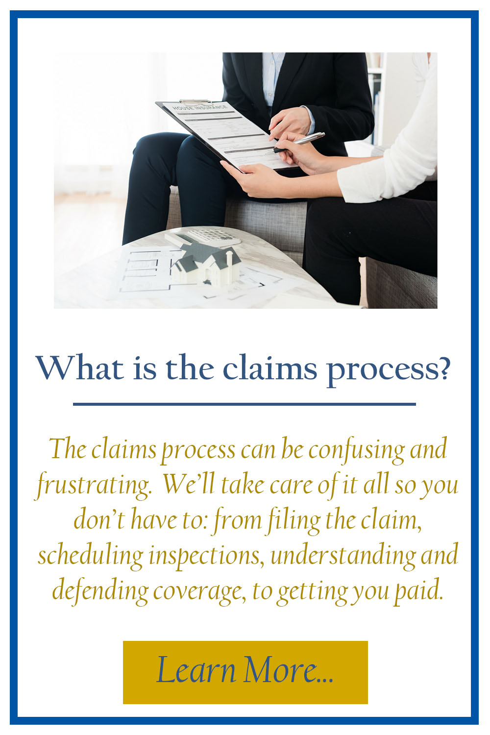Claims Process TILE